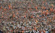 200 ألف متظاهر يشلون العاصمة الاقتصادية للهند