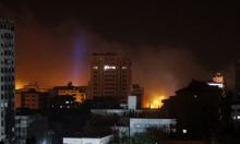 جرحى بغارتين للاحتلال على غزة وحماس تتوعد