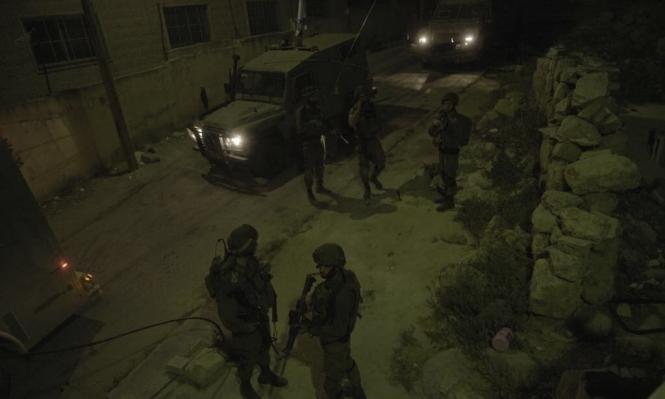"""إصابة جندي إسرائيلي بنيران """"صديقة"""" بمخيم الدهيشة"""
