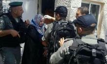الاحتلال يداهم منزل امرأة مقدسية بزعم تنفيذها عملية طعن