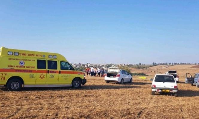 مصرع مظلي إسرائيلي بعد سقوطه مظلته قرب دبورية