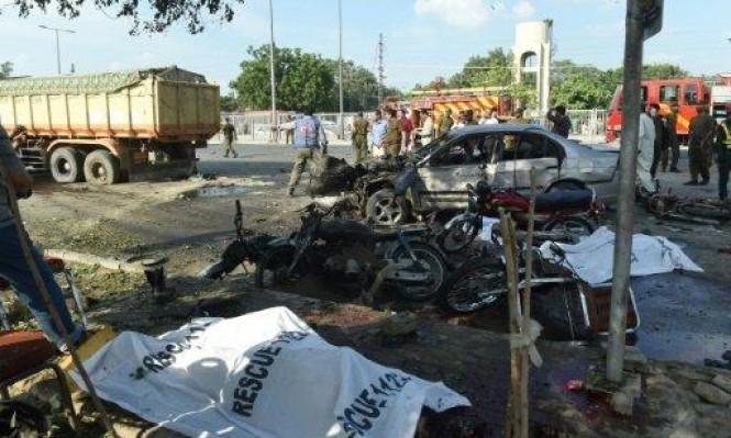 مقتل 15 شخصا وجرح 30 بانفجار في باكستان