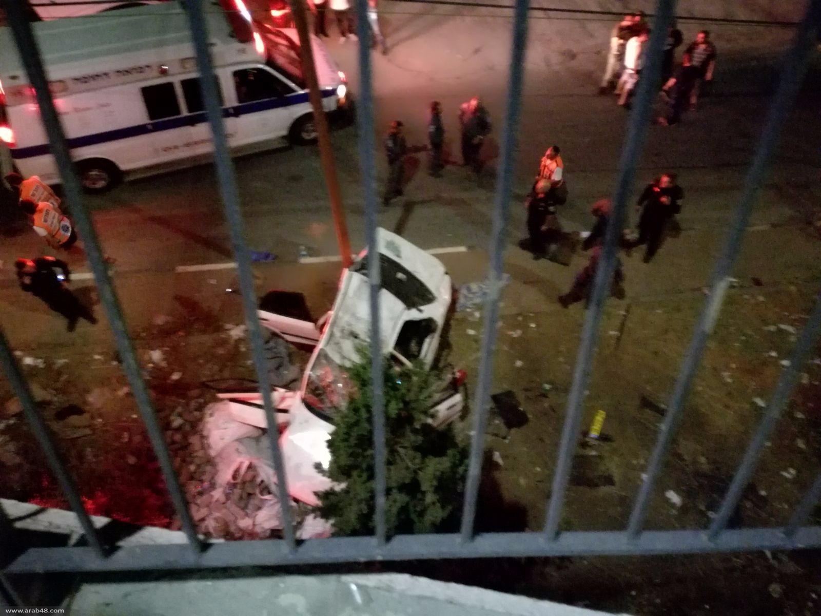 الناصرة: مصرع شابة وإصابة أخرى بانقلاب سيارة