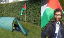 ناشط سويدي يبدأ مسيرته نحو فلسطين سيرًا على الأقدام