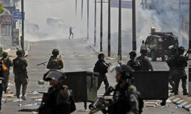 مواجهات في أبو ديس والاحتلال يعتقل 5 مقدسيين