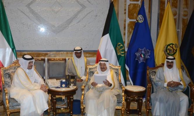 وزير الخارجية القطري بالكويت لبحث الأزمة الخليجية