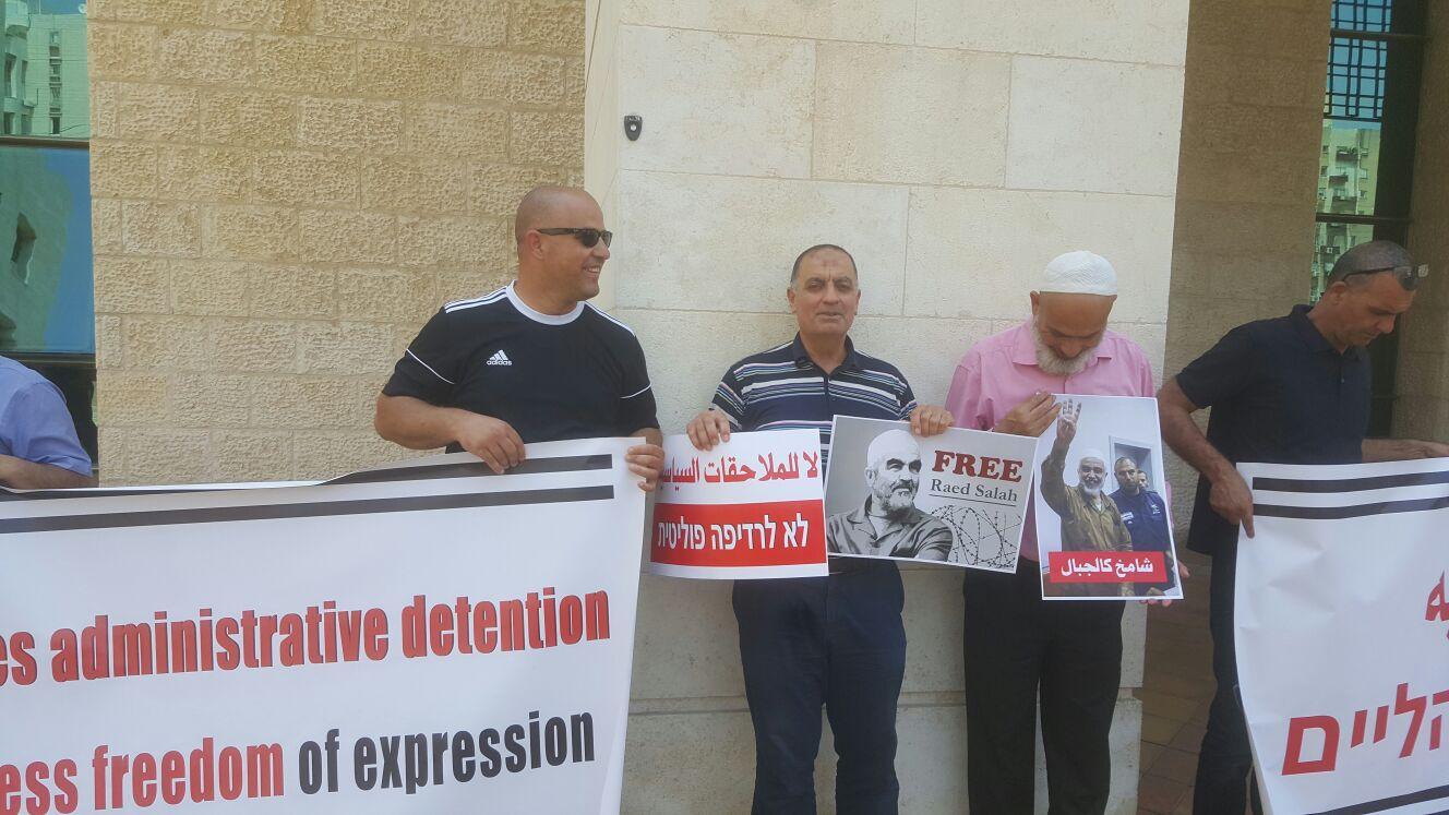 تمديد اعتقال الشيخ رائد صلاح لغاية الإثنين المقبل