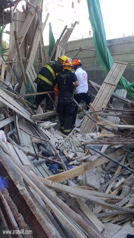كفر كنا: مصرع محمد أمارة (16 عاما) إثر انهيار سقالات بورشة بناء