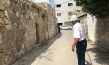 الطيبة: تذمر بسبب عدم توسيع الشارع في الحارة القديمة