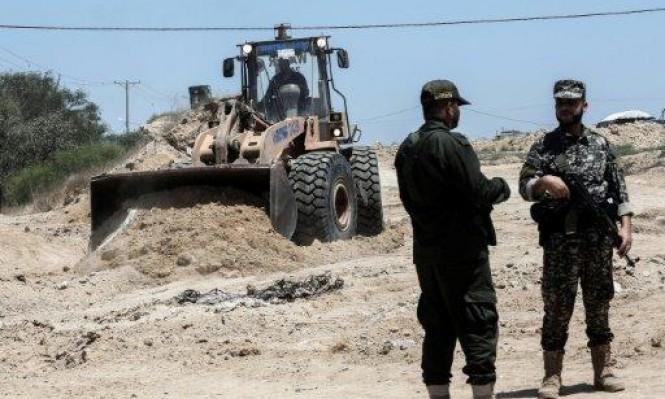 قطاع غزة: انتحاري يستهدف قوة أمنية فلسطينية شرق رفح
