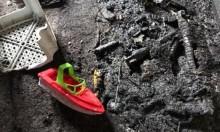 بيت جن: 3 إصابات في حريق بمنزل