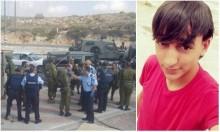 استشهاد فتى فلسطيني بنيران الاحتلال عند حاجز زعترة
