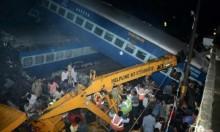 23 قتيلا و64 جريحا في حادث قطار بالهند