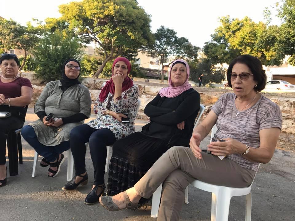 """""""نساء القلعة"""" في شفاعمرو مستمرات في حملة """"مشوارنا"""""""