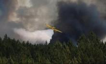 تحطم طائرة أثناء مشاركتها في مكافحة الحرائق بالبرتغال