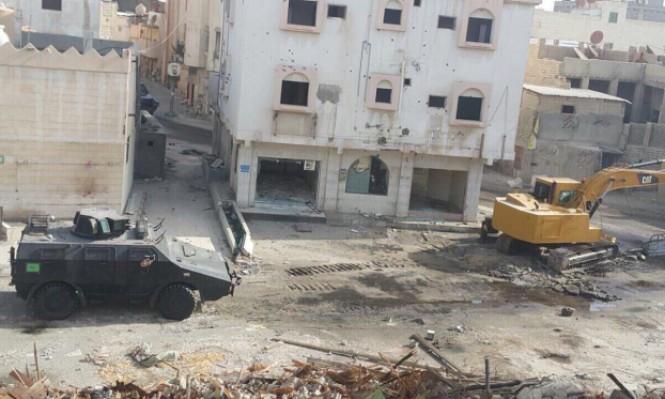 السعودية تسوي الأرض بقرية وتمنع الإعلام من الدخول