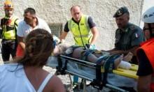 إيطاليا: انتشال 3 أطفال أشقاء من تحت الأنقاض