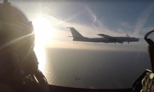 مقاتلتان دنماركيتان تعترضان حاملة صواريخ روسية فوق البلطيق