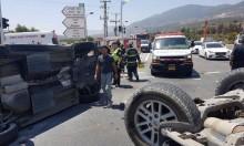 19 إصابة في 4 حوادث طرق