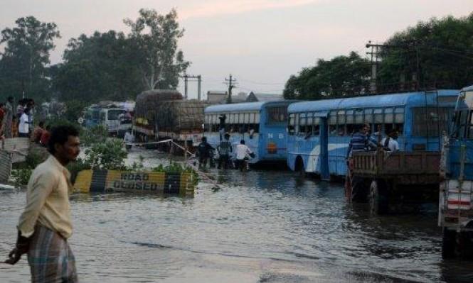 الفيضانات تهدد حياة 24 مليون شخص في آسيا