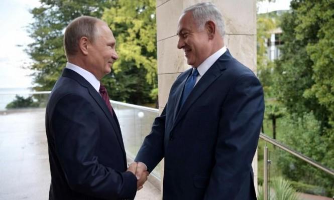نتنياهو بعد لقاء بوتين: يجب منع لبننة سورية لتجنب الحرب مستقبلا
