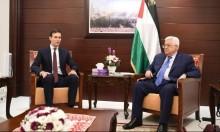 """عباس: نعمل مع ترامب للتوصل لـ""""صفقة سلام"""""""
