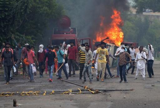 الهند: قتلى وجرحى إثر إدانة زعيم روحي بتهم الاغتصاب