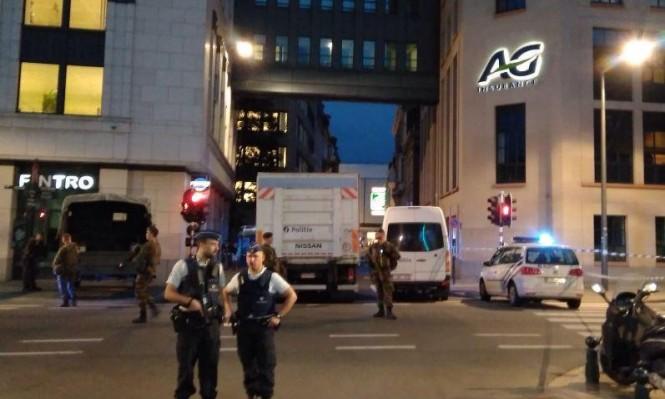 بروكسل: الشرطة تطلق النار على مسلح هاجم جنودا