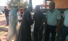 وفد من أم الفحم يقدم العزاء لعائلة أحمد ياسين من الطيبة