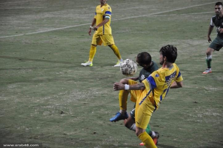 أخاء الناصرة يحقق الفوز بأولى مبارياته البيتية