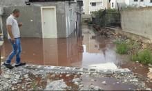 عرابة: المياه العادمة تغمر منزل وسيم بطاطا