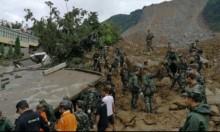 الصين: مصرع 15 شخصا في انهيار أرضي