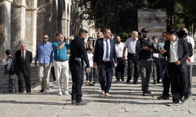 """اليمين الإسرائيلي المتطرف يدعو لمؤتمر """"للوطن البديل"""" بالأردن"""