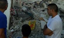 الجرافات الإسرائيلية تهدم منزل عائلة الفقير في اللد