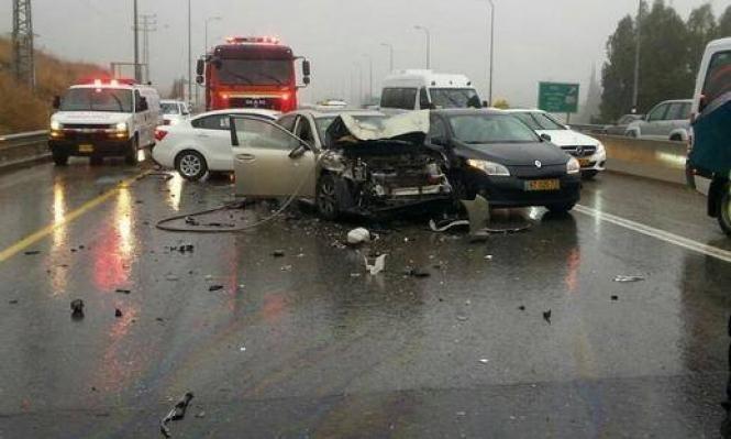 3 إصابات في حادث سير قرب معالوت-ترشيحا