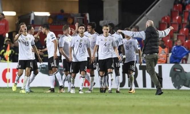 ألمانيا تقترب من التأهل لنهائيات كأس العالم 2018