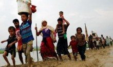 جيش ميانمار يواصل المجزرة: 73 ألفا من الروهينغا فروا لبنغلادش