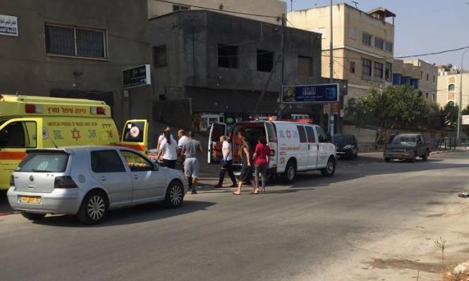 البعينة نجيدات: إصابة خطيرة لشابة في حادث طرق