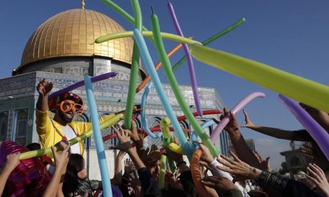 أجواء العيد في القدس المحتلة