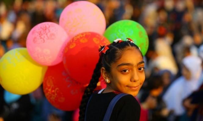 أجواء العيد في غزة