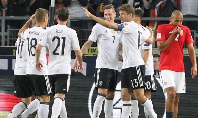ألمانيا تسحق النرويج بسداسية نظيفة