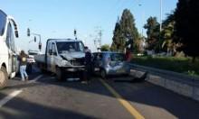 11 مصابا في حادث طرق قرب باقة الغربية