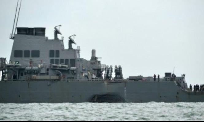 حوادث البحرية الأميركية بسبب نقص التدريب والصيانة