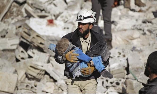 الخوذ البيضاء السورية تفوز بجائزة تيبراري للسلام أخبار عربية
