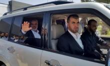 هنية يغادر قطاع غزة متوجها إلى القاهرة