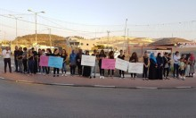 مجد الكروم: وقفة احتجاجية تنديدا بجريمة القتل
