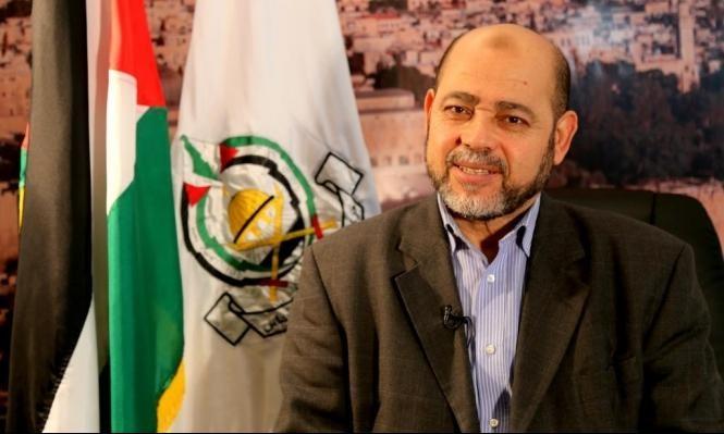 """أبو مرزوق: لا حديث عن صفقة جديدة قبل الالتزام بـ""""الوفاء للأحرار"""""""