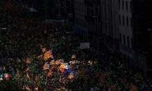 مظاهرة مليونية تطالب باستقلال كتالونيا عن إسبانيا