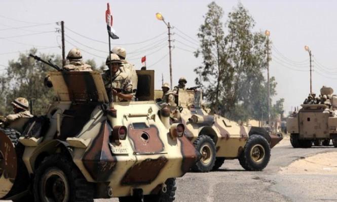 مصر: مقتل 5 عناصر أمن بتفجير شمال سيناء