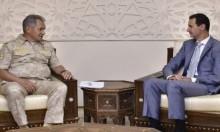 وزير الدفاع الروسي يلتقي الأسد في دمشق